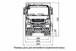 """САМОСВАЛ КАМАЗ 6520 ЛЮКС 6520-001-49 (B5) """"ЛЮКС"""" – фото 5"""