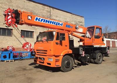 "КС-35719-8А ""Клинцы"" на шасси КАМАЗ 53605 дв. CUMMINS  Euro 5 – фото 1"