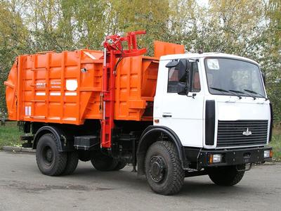МУСОРОВОЗ МК-3551-03 / МК3552-03 НА ШАССИ МАЗ-5340С2 – фото 7