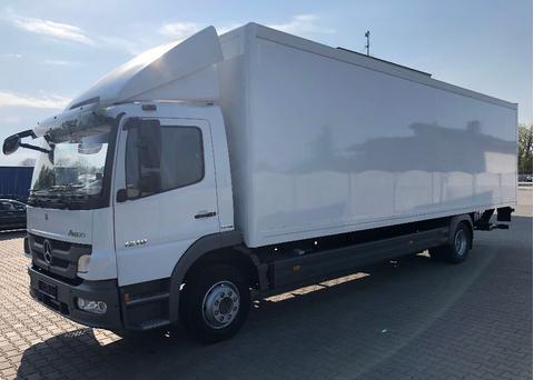Изотермический грузовик MERCEDES-BENZ ATEGO 1218, IZOTERMA 8,85m – фото 1