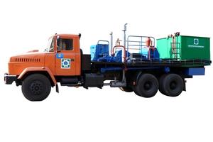 Цементировочный агрегат АЦ-32» без водоподающего блока, на шасси Камаз 43118-50 – фото 1