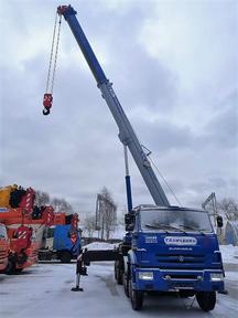 Галичанин 32 тонны 55729-1В 30 метров 8x4 6540 Сummins – фото 1