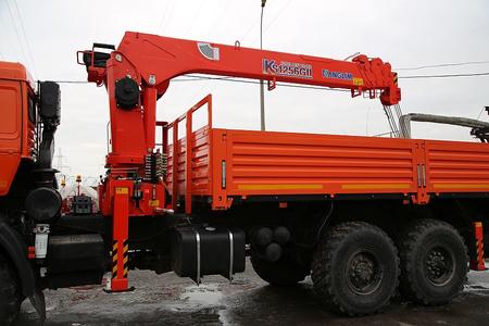 КМУ KANGLIM KS-1256 G-II на базе шасси КАМАЗ 43118-3027-50 – фото 2