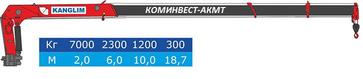 КМУ KANGLIM KS-1256 G-II на базе шасси КАМАЗ 43118-3027-50 – фото 6