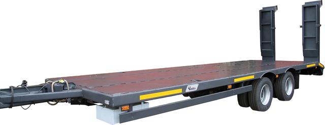 Прицеп -платформа специальный ЧМЗАП 8358 по спецификации 13 ПГП – фото 1
