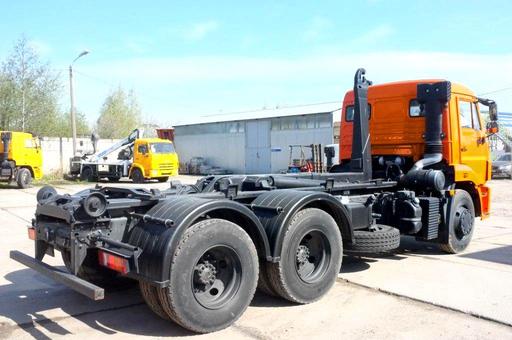 Palfinger PH T15 на шасси КАМАЗ 65115-3094-48 с гидроупорами – фото 1