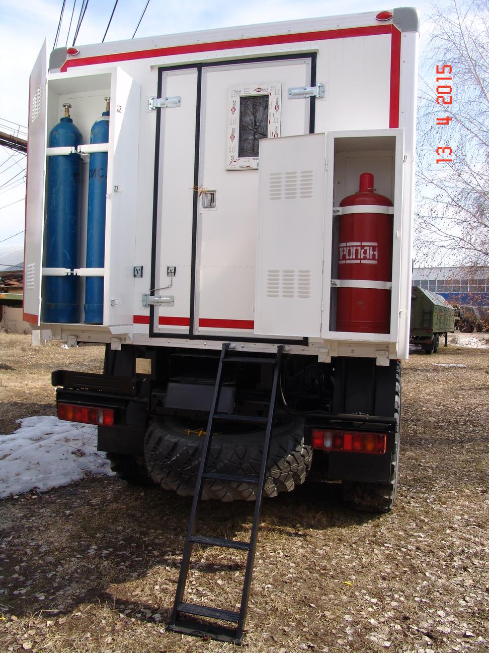 Передвижная аварийная мастерская на шасси КАМАЗ – 5350 – фото 2