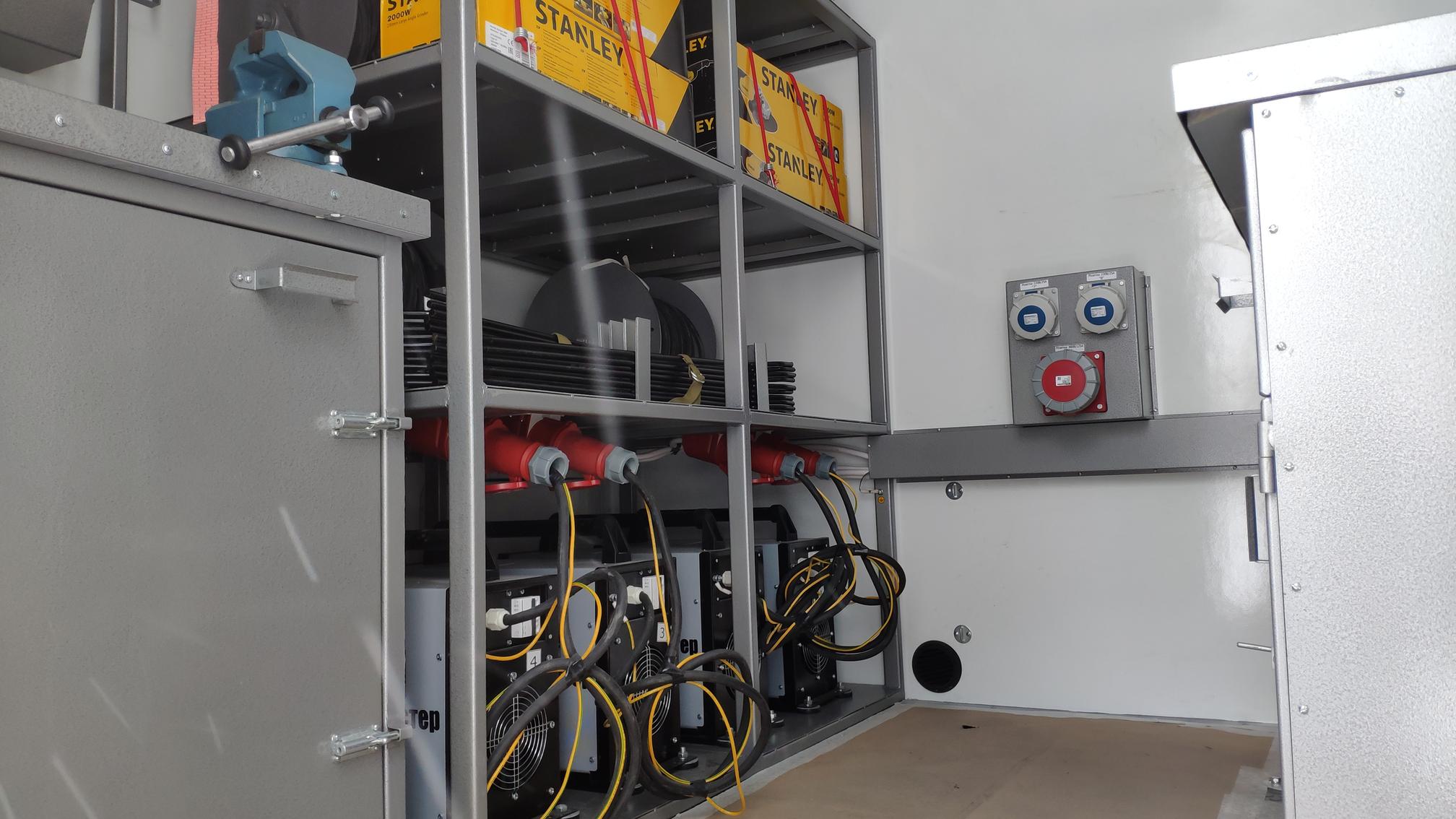 Агрегат ремонтно-сварочный (АРС) на шасси УРАЛ-4320 (NEXT) – фото 3