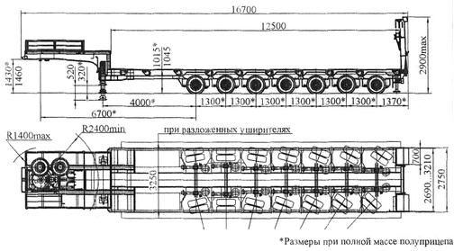 Полуприцеп ЧМЗАП 99905 по спецификации 020 – фото 6