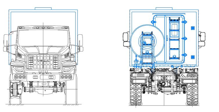 Агрегат ремонтно-сварочный (АРС) на шасси УРАЛ-4320 (NEXT) – фото 6