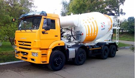 Автобетоносмеситель 58140Z (ABS-10A) (шасси КАМАЗ-65201) – фото 1