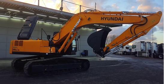 Экскаватор Hyundai R 290 LC a в наличии – фото 1