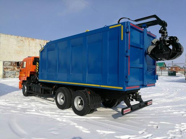 Ломовоз с КМУ VM10L74M на шасси Камаз-65115-48 – фото 1
