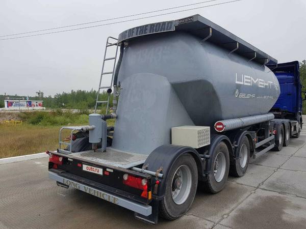 Цементовоз полуприцеп-цистерна Бецема ТЦ-21.1 – фото 1