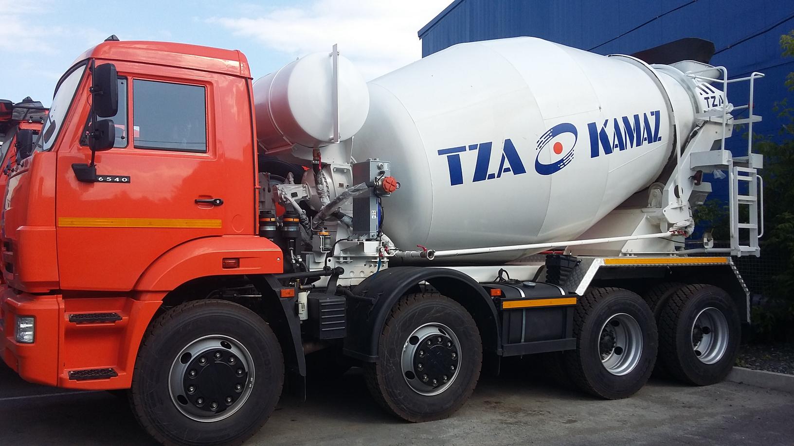 Автобетоносмеситель 58149Y на шасси КАМАЗ 6540 9 м3 – фото 2