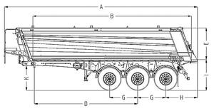 Полуприцеп самосвальный алюминиевый Wielton NW 3 А 24 HP – фото 2