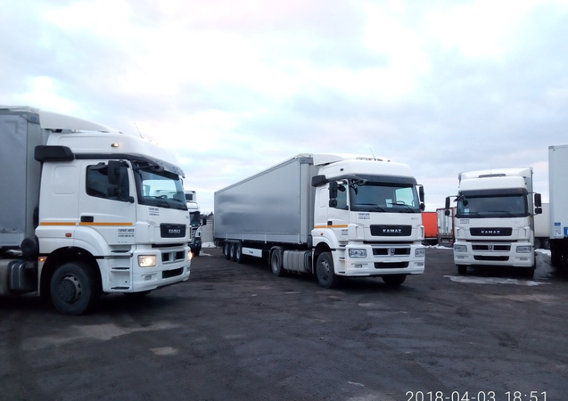 Седельный тягач КАМАЗ 5490-024-87 – фото 4