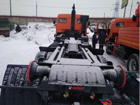 Мультилифт HIAB Optima 20S59 на шасси КАМАЗ 6520-3072-53 – фото 1