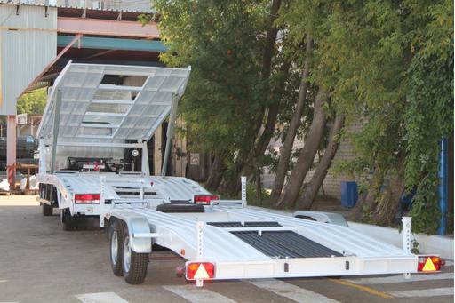 Эвакуатор-автовоз двухуровневый с прицепом Шасси JAC N75 – фото 2