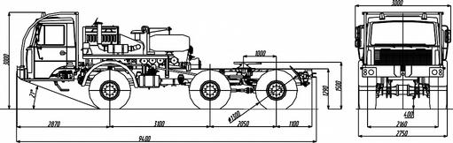 Седельный тягач МЗКТ-690610 – фото 5