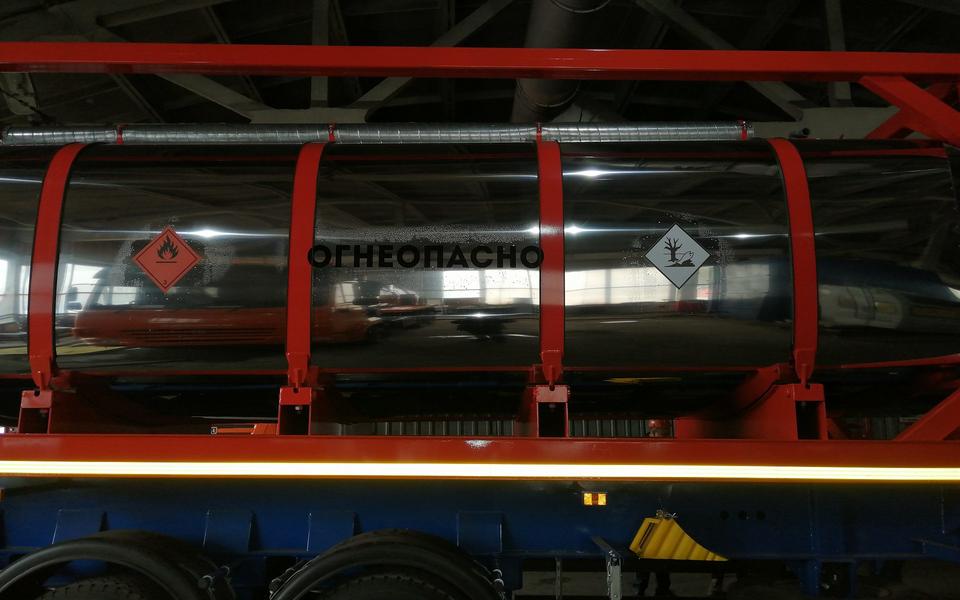 Полуприцеп контейнеровоз ППК34-83.001 34 тонны – фото 8