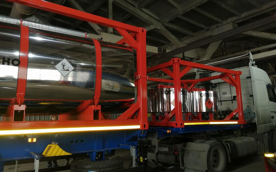 Полуприцеп контейнеровоз ППК34-83.001 34 тонны – фото 10