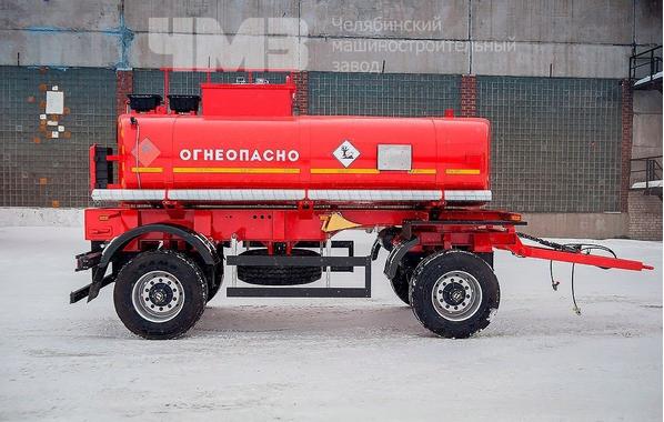 Прицеп цистерна для перевозки светлых нефтепродуктов ПЦ-10 – фото 2