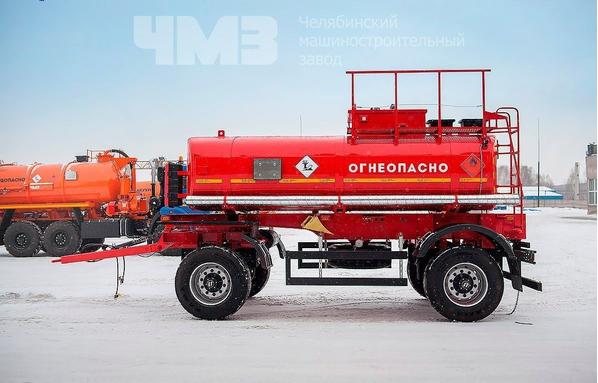 Прицеп цистерна для перевозки светлых нефтепродуктов ПЦ-10 – фото 4