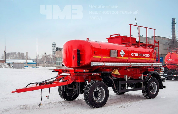 Прицеп цистерна для перевозки светлых нефтепродуктов ПЦ-10 – фото 5