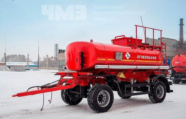 Прицеп цистерна для перевозки светлых нефтепродуктов ПЦ-10 – фото 19