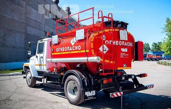 Топливозаправщик АТЗ ГАЗ 3309 (АТЗ 36135 011) – фото 5