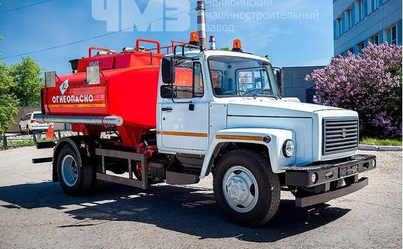 Топливозаправщик АТЗ ГАЗ 3309 (АТЗ 36135 011) – фото 8