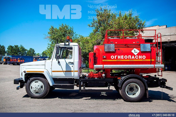 Топливозаправщик АТЗ ГАЗ 3309 (АТЗ 36135 011) – фото 11