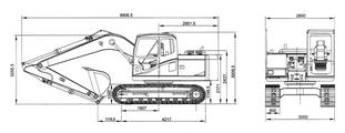 Экскаватор SE240 – фото 3
