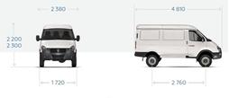 """ГАЗ-2752 """"Соболь"""" цельнометаллический фургон, 3 мест. – фото 2"""