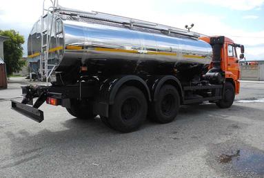 Молоковоз 11.5 м3 на шасси  КАМАЗ 65115-3082-48 – фото 2