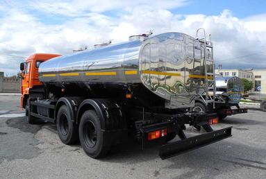 Молоковоз 11.5 м3 на шасси  КАМАЗ 65115-3082-48 – фото 3