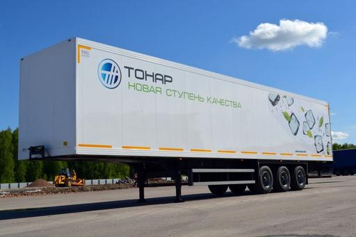 Полуприцеп изотермический Тонар-97863 (36 евро палет) – фото 2