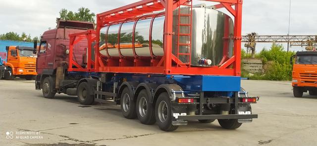 Полуприцеп контейнеровоз ППК34-83.001 34 тонны – фото 4