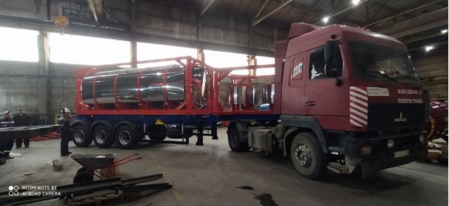 Полуприцеп контейнеровоз ППК34-83.001 34 тонны – фото 6