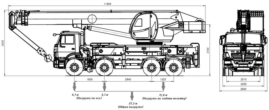 Автокран КС-65740-5 – фото 9