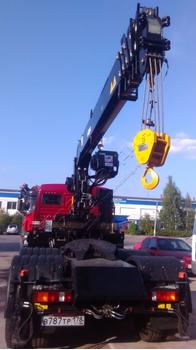 Седельный тягач КАМАЗ 65116 с КМУ HIAB 190T (ЕВРО 5) новый – фото 3