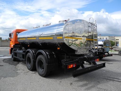 Молоковоз 9,8 м3 на шасси КАМАЗ 65115 – фото 4