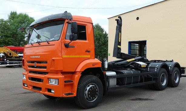 Мультилифт HIAB Optima 20S59 на шасси КАМАЗ 6520-3072-53 – фото 3