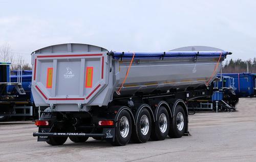 Полуприцеп ТОНАР грузовой самосвал с задней разгрузкой SL4-23/30A – фото 3