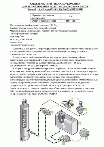 Самосвальный прицеп Тонар SP2-11 – фото 4
