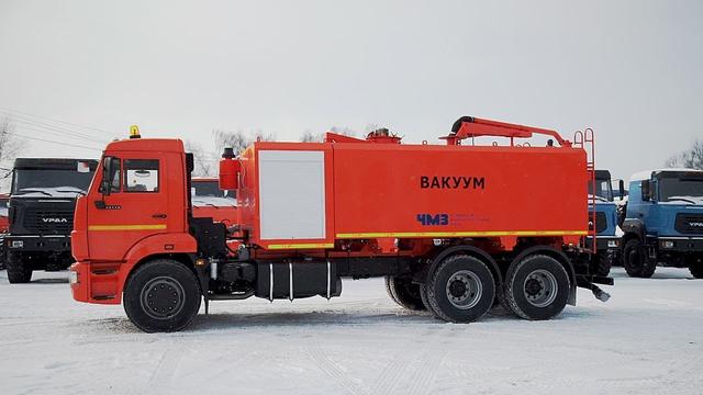 Комбинированная каналопромывочная и илососная машина МВс-6-Одг КамАЗ 65115 – фото 1
