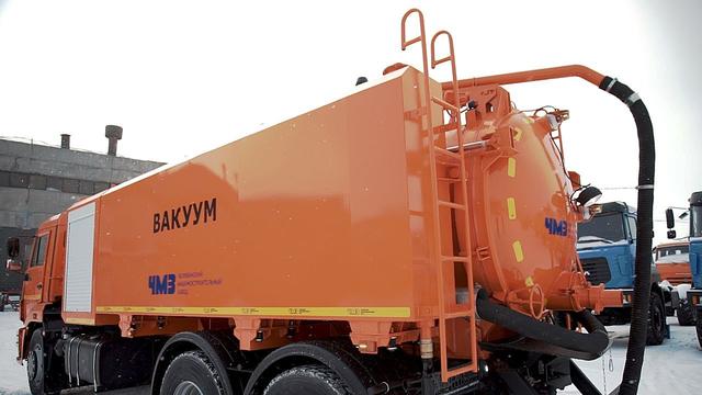 Комбинированная каналопромывочная и илососная машина МВс-6-Одг КамАЗ 65115 – фото 3
