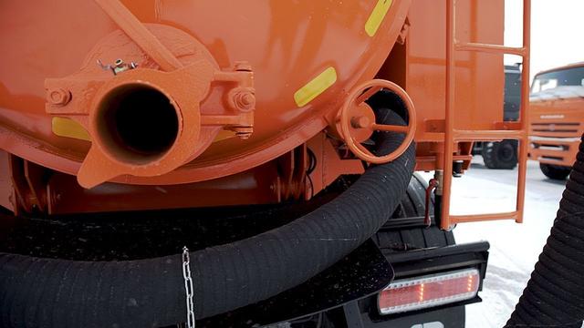 Комбинированная каналопромывочная и илососная машина МВс-6-Одг КамАЗ 65115 – фото 5