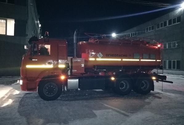 Топливозаправщик АТЗ-17 КамАЗ 65115 – фото 4